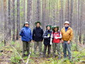 #6: The expedition team (from right to left): Andreas, Yi-Chun, Regina, Oliver, Genadi