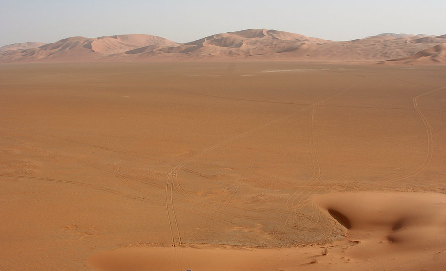 Sabkha, view to SSE