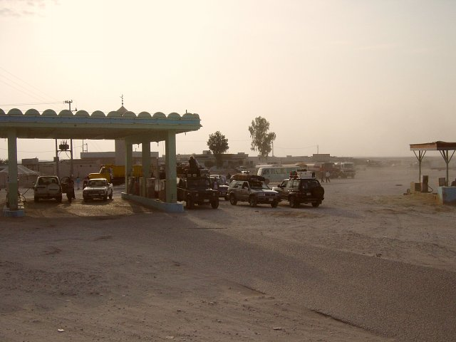 Harad's gas station