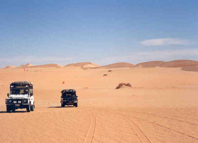 The freedom of driving in the Empty Quarter with no habitation for hundreds of kilometres in every direction, is exhilarating.