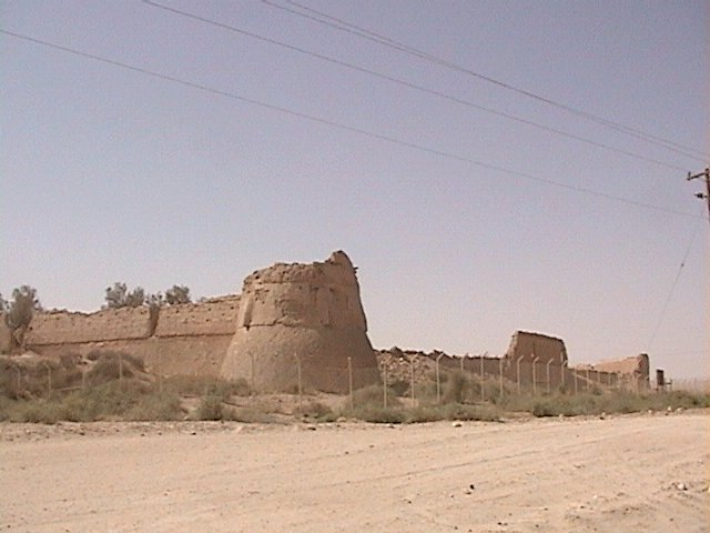 An ancient fort nearby.