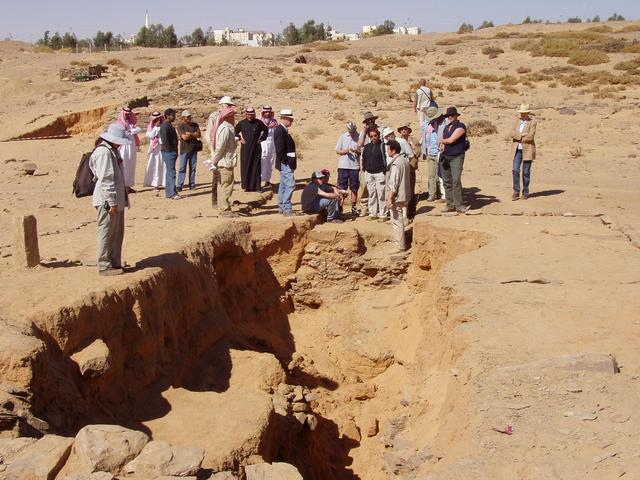Visit of archaeological site