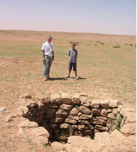One of the many ancient wells.