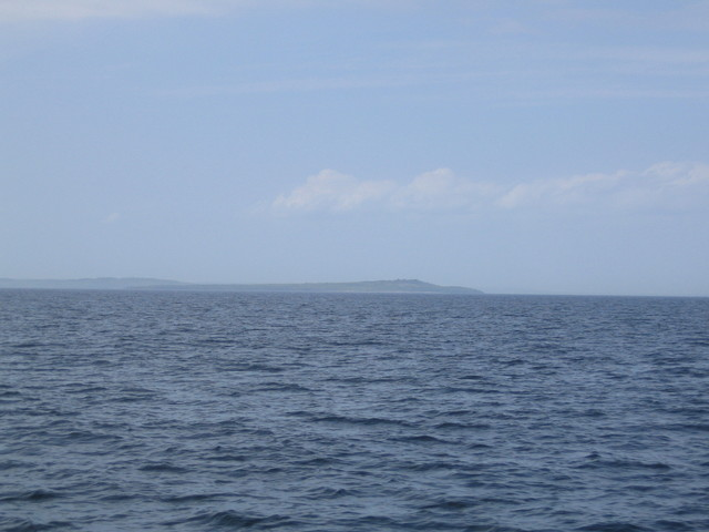 Looking west towards Hanö Island