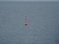 #2: Buoy marking the T-Route, the buoyed route from the North Sea to the Baltic Sea