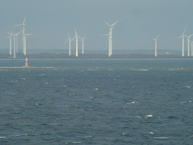 Wind Rotors on the coast