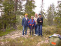 #3: Looking north, Nils, Eva, Gunnar, Agneta