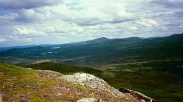 #1: This is a picture shows the view to the east overlooking the valley