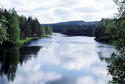 #5: The river from a bridge, some km upstream