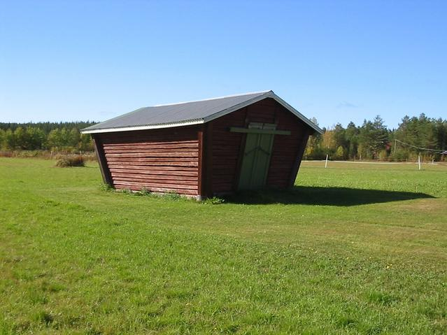 Typical Norrbotten barn