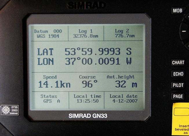 Main GPS on bridge
