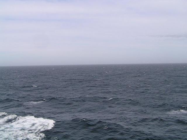 View to East – the Open Sea