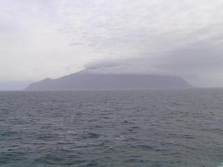 #1: Tristan Island seen from the Confluence
