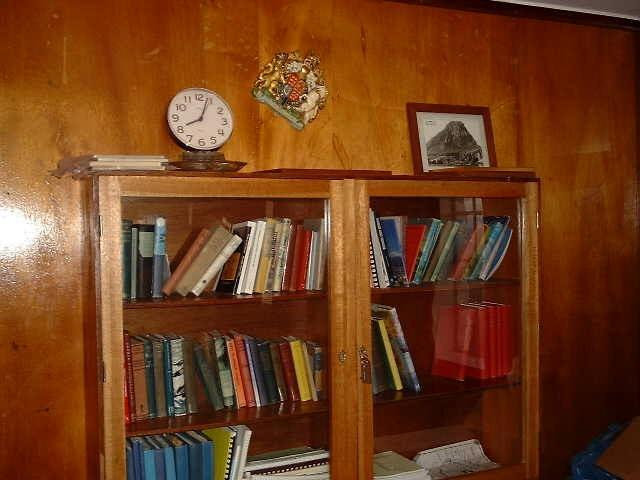 The library of Tristan Island