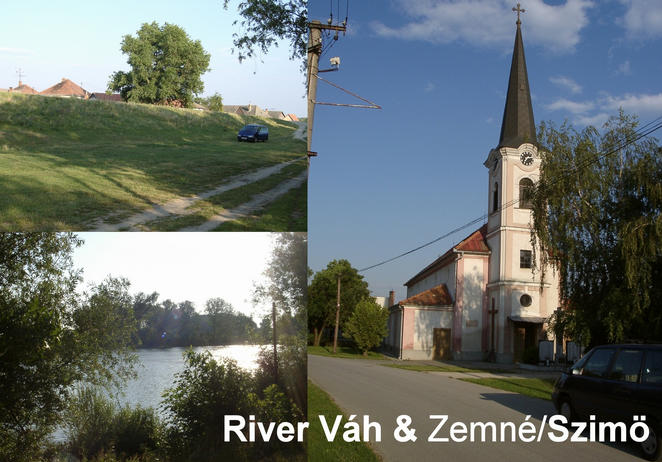 River Váh at Zemné / Szimö