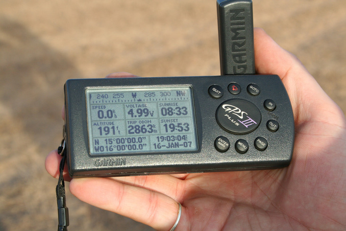 GPS data at the Confluence