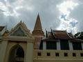 #5: Phra Pathom Chedi in the city of Nakhon Pathom (pop. 60,000). The dome of the