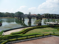 #2: The 'Bridge Over the River Kwai' in our launching off town, Kanchanaburi