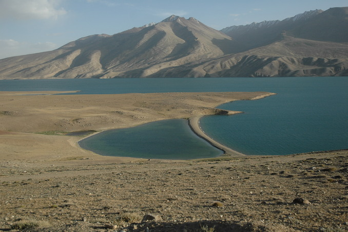 Taken at the furthest point we reached - a view of Yashilkul Lake