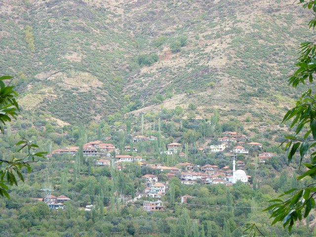The village of Çayırköy from near the Confluence
