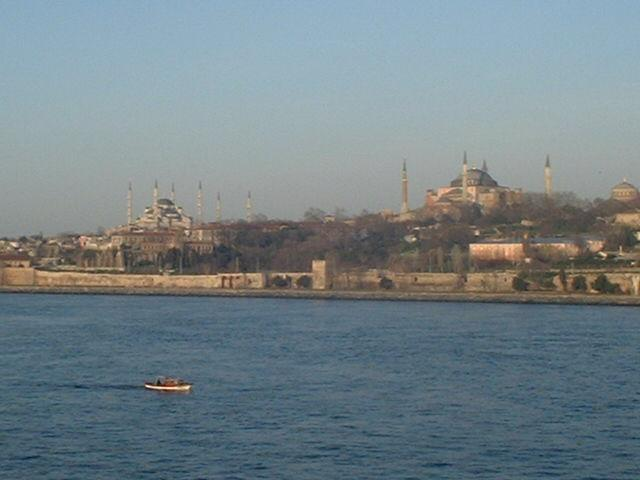 Sultanahmet and Hagia Sophia Mosques