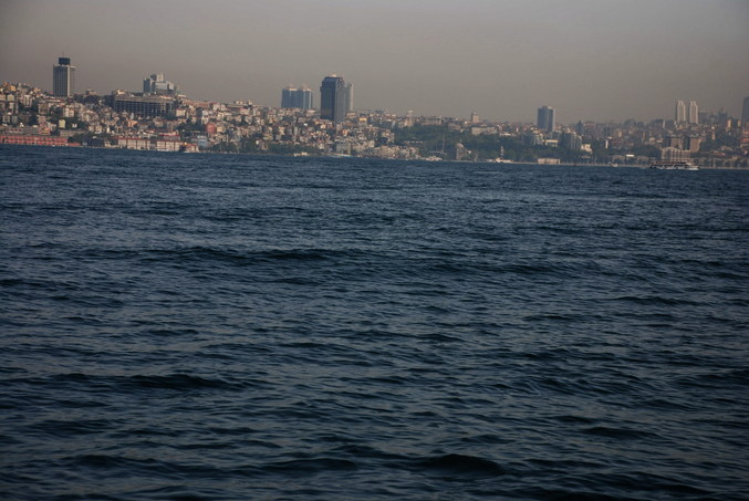 North view - the skyline of Istanbul