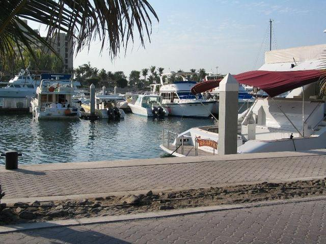 Marina close to Jabal `Aliy Hotel