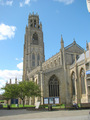 #10: St. Botolph's Church in Boston, home church for many of the pilgrim fathers.