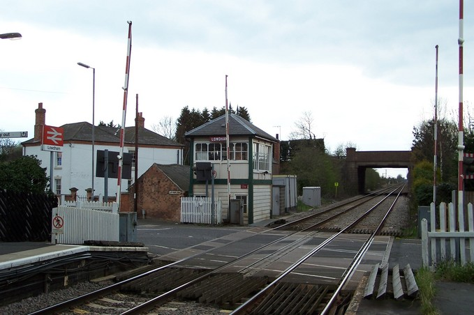 Signal box in Lowdham