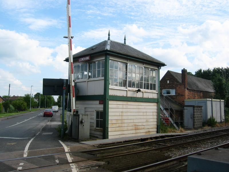 Operator House of the Railway Crossing