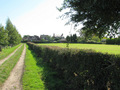 #7: This trail leads off from the Village Hall to fields behind the village.