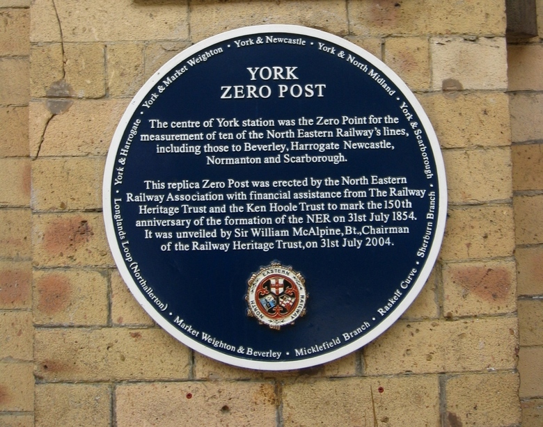 Railway Zero in York