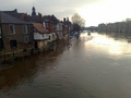 #7: Flooding in York due to the heavy rain