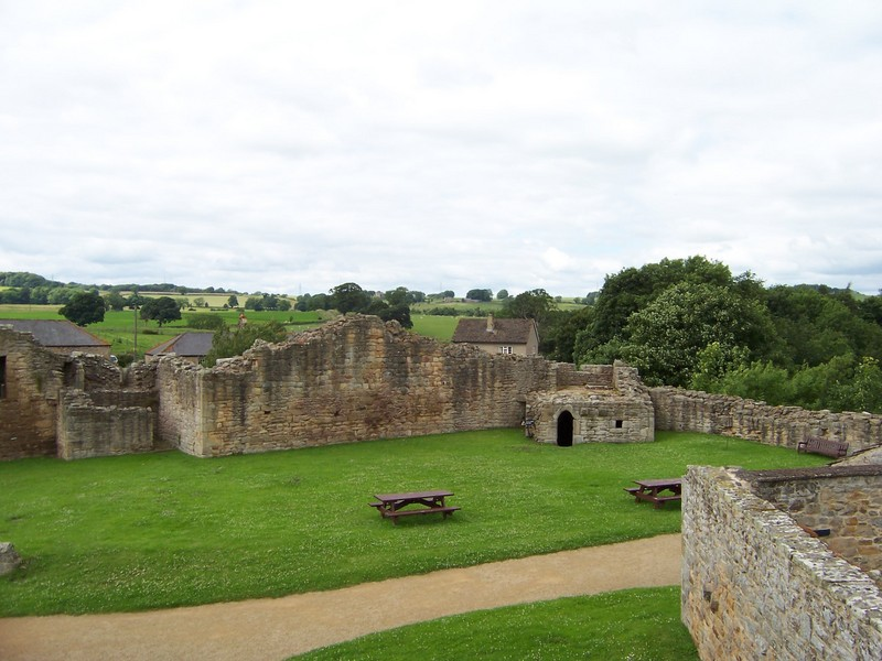 a view from Aydon Castle