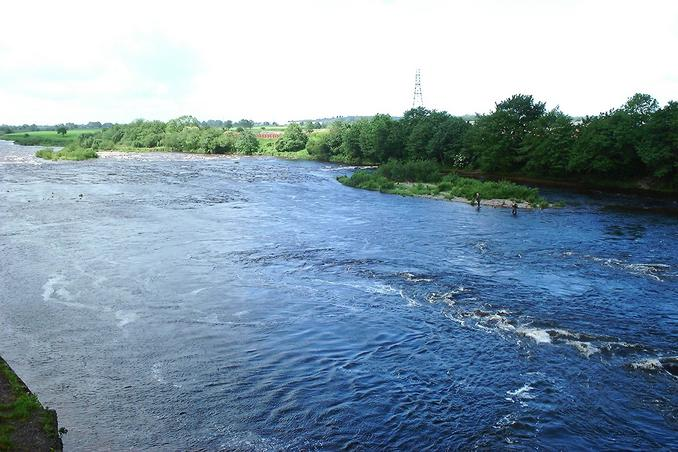 River Esk looking normal