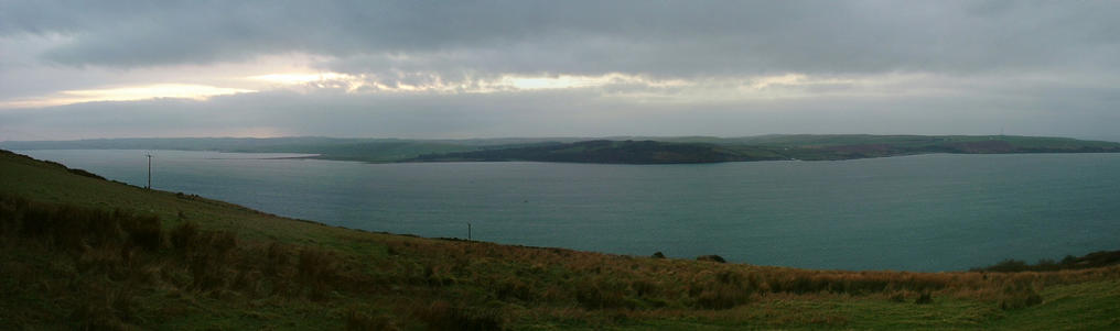 Panorama over Loch Ryan