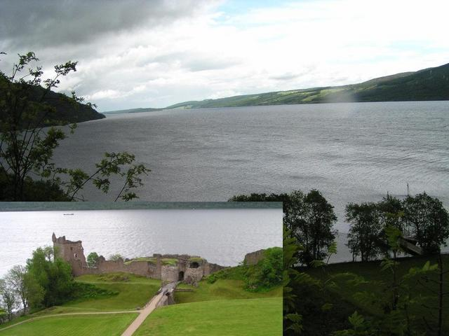Loch Ness with Urquhart Castle