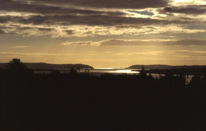 morning light over Cromarty Firth