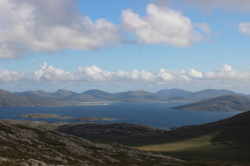 Looking south on Sound of Taransay