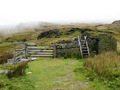 #8: The stile over the fence which keeps the sheep in their own area.