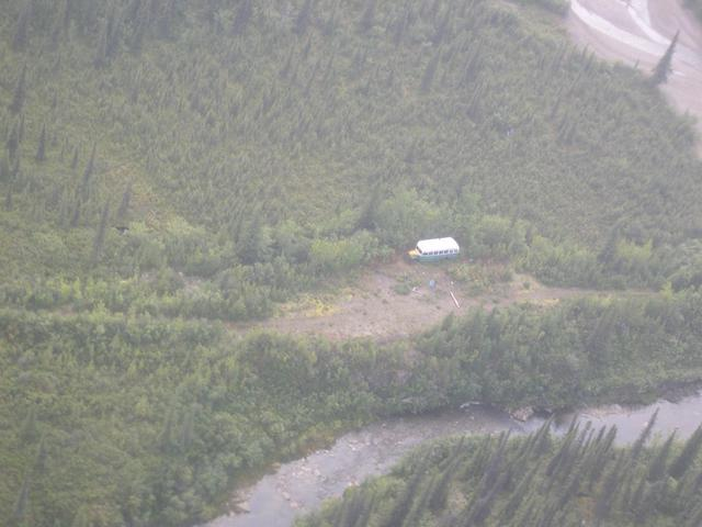 View of the Christopher McCandless bus