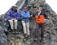 "#4: Group on confluence ridge at 69 00' 00""  144 00' 6.7"""