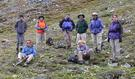 #6: Our Group before ascent up rocky canyon to confluence