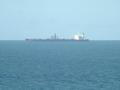 #4: A tanker is loading crude oil for export