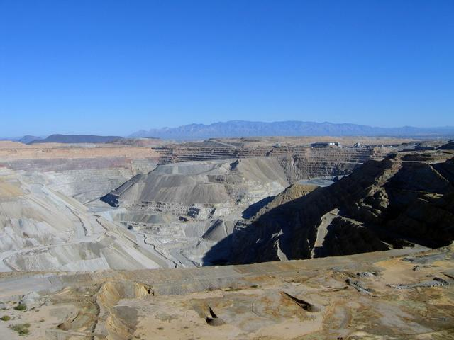 On top of the ASARCO Copper Mine