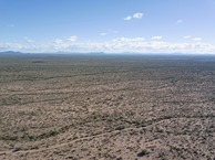 #10: View South (towards the U.S.-Mexico border, 24 miles away) from 120 m above the point