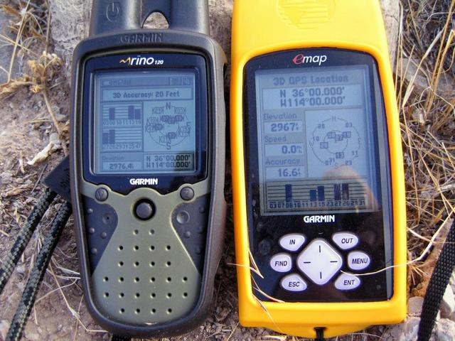 GPS receivers reading all zeroes at the confluence
