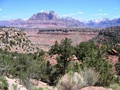 #7: View of Zion from dirt road