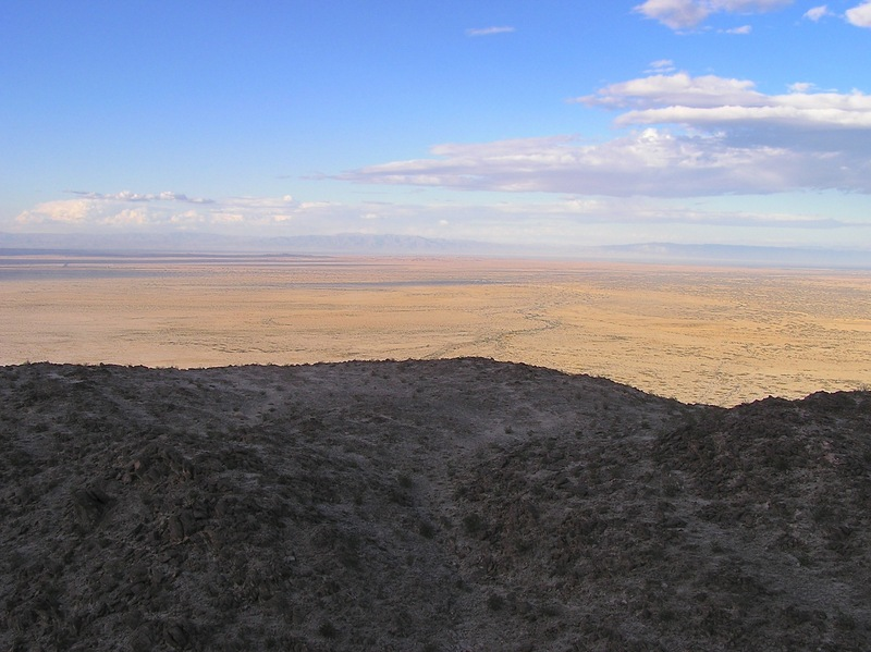 View North (towards the Salton Sea, far in the distance)