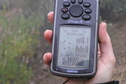#6: Wet GPS receiver at the confluence site.